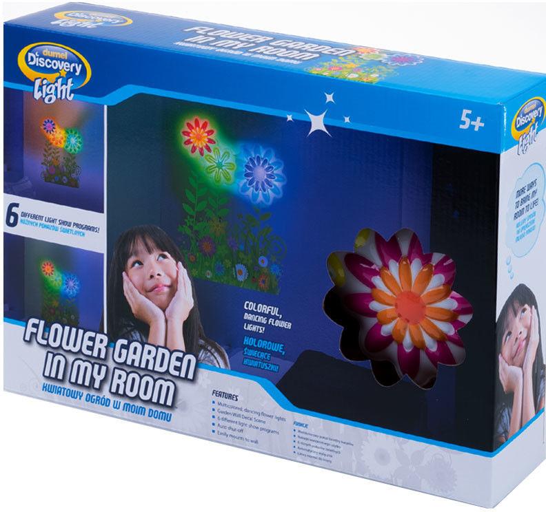 Uncle Milton Dumel Discovery Light - Projektor Lampka Kwiatowy ogród w moim domu 2371