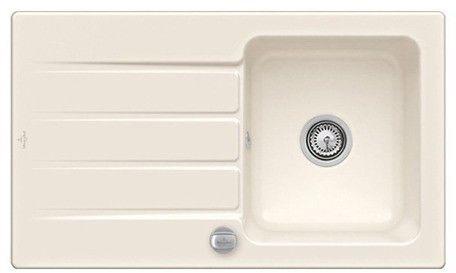 Architectura 50 Classicline V&B zlew ceramiczny 510x860 KM cream (połysk) - 3350 01 KR