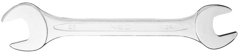 Klucz płaski dwustronny 25 x 28 mm dł.285 mm 09-825