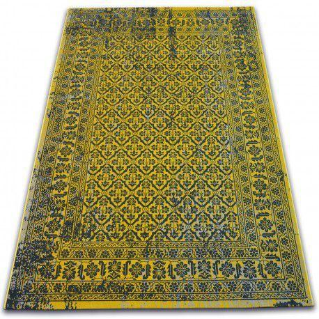 Dywan Vintage Kwiaty 22209/025 żółty 80x150 cm