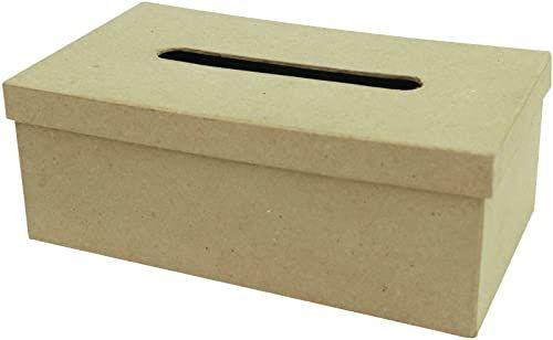décopatch prostokątne pudełko na chusteczki