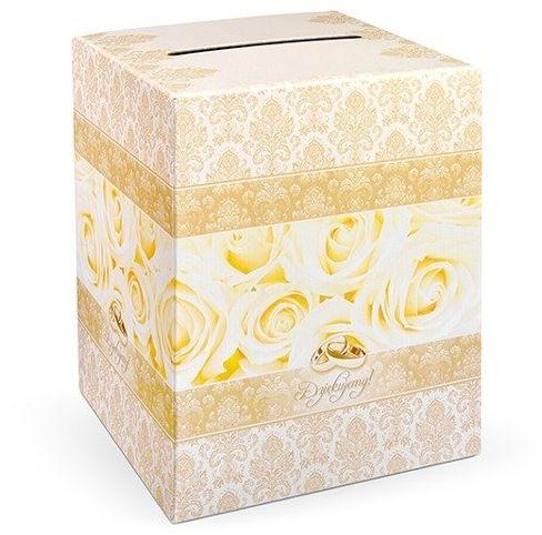 Pudełko weselne na koperty z życzeniami, prezentami 25x25x30cm PUDT1