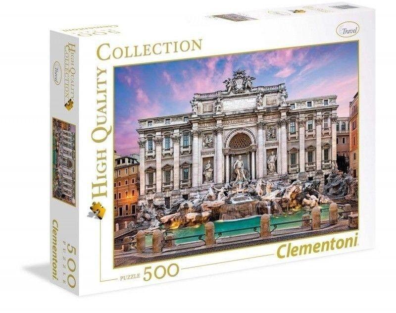 Puzzle Clem. 500 - Fontanna di Trevi, Trevi Fountain