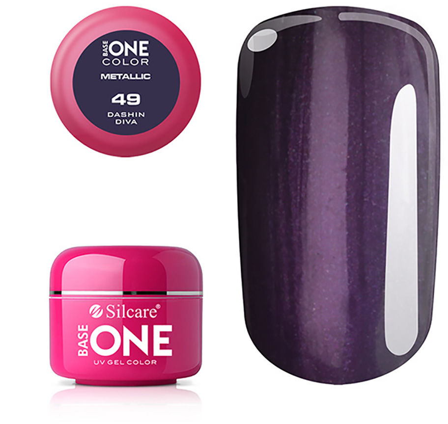 OUTLET Base One Żel UV Metallic 5 g