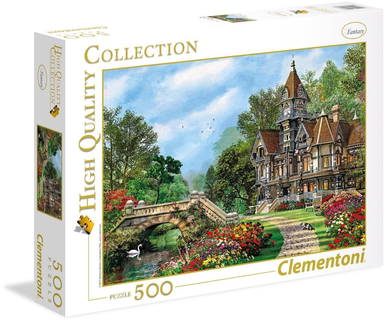 Puzzle Clem. 500 - Stary Domek przy rzecze, Old Waterway Cottage