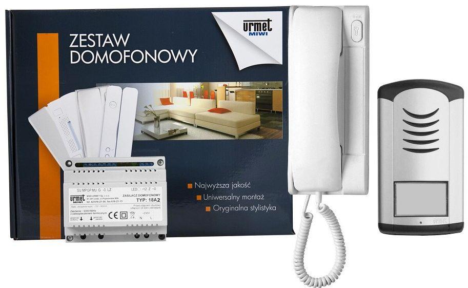 Zestaw domofonowy 1129/321 MIWI-URMET