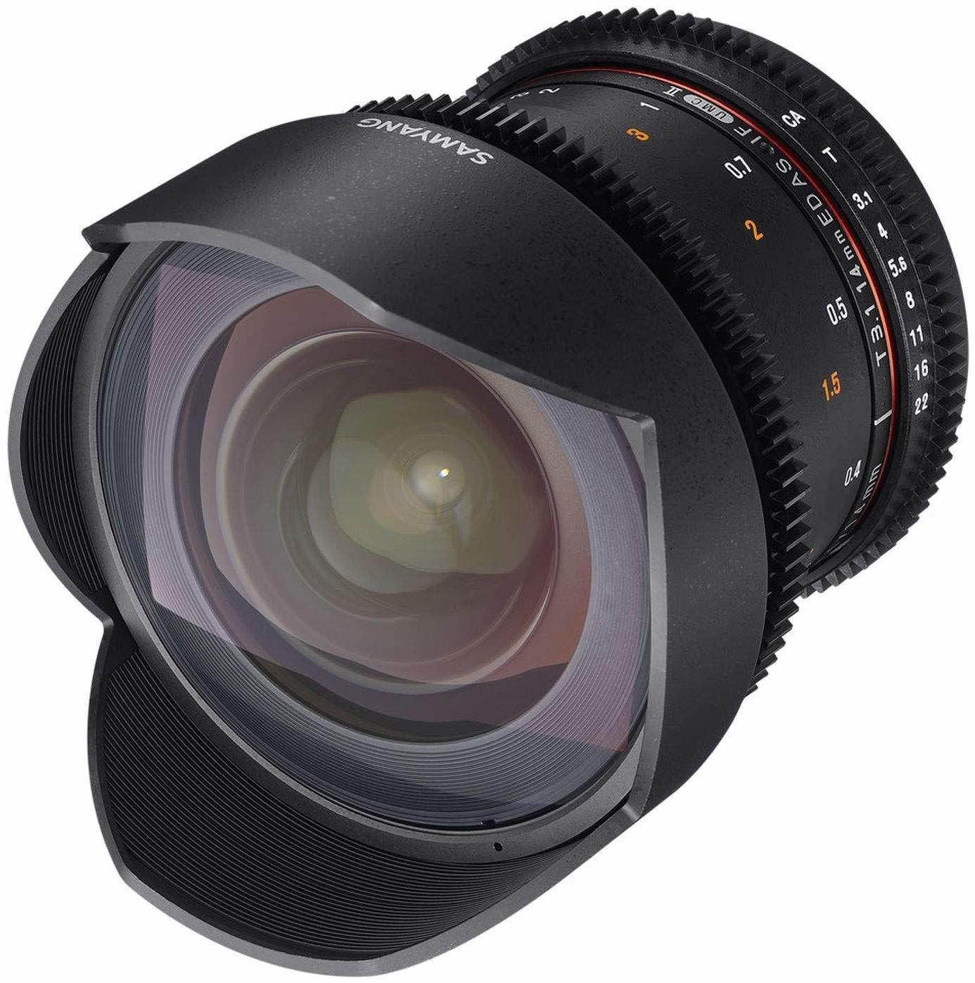 Samyang 14 mm T3.1 VDSLR II ręczny obiektyw wideo do kamery Nikon DSLR