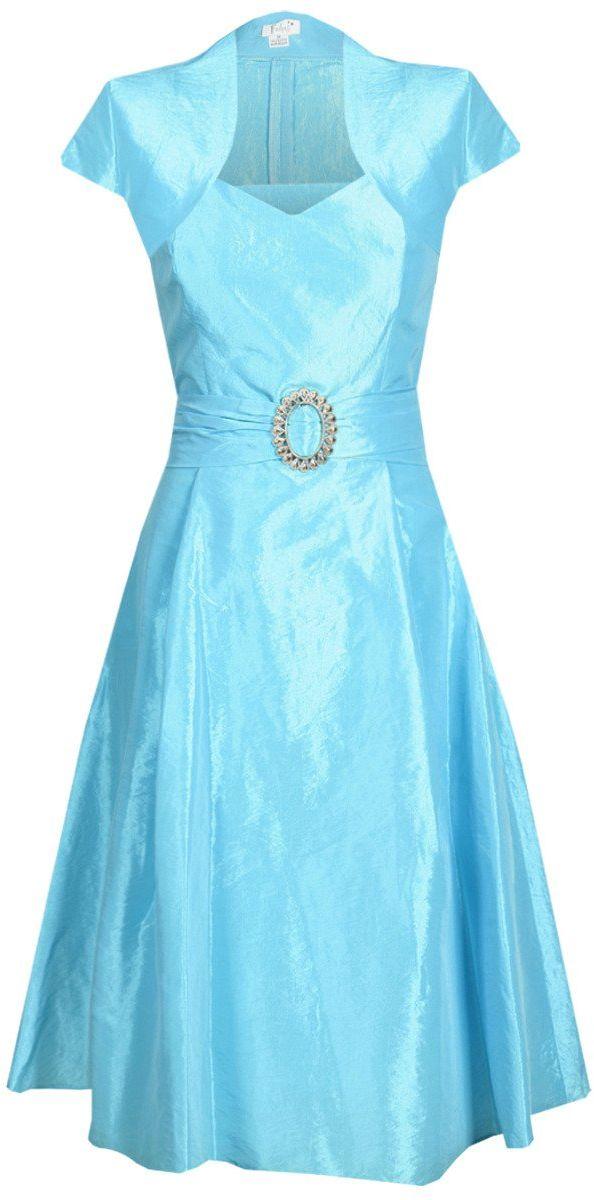 Sukienki Sukienka Suknie FSU135 TURKUSOWY