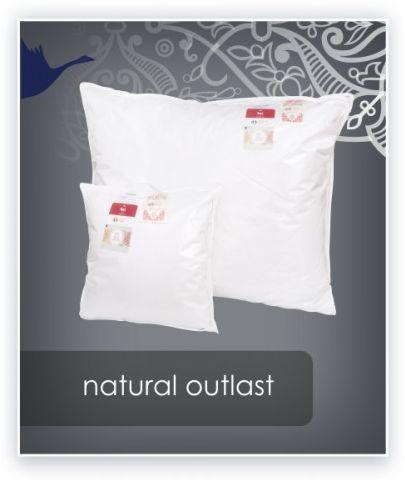 AMZ NATURAL OUTLAST termoaktywna poduszka trzykomorowa puch 100% 50x60