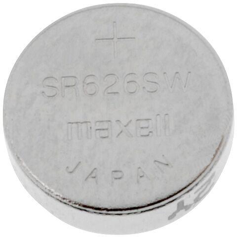 Bateria srebrowa 1,55V MAXELL R626,SR626,SR66 1szt. fi6,8x2,6mm