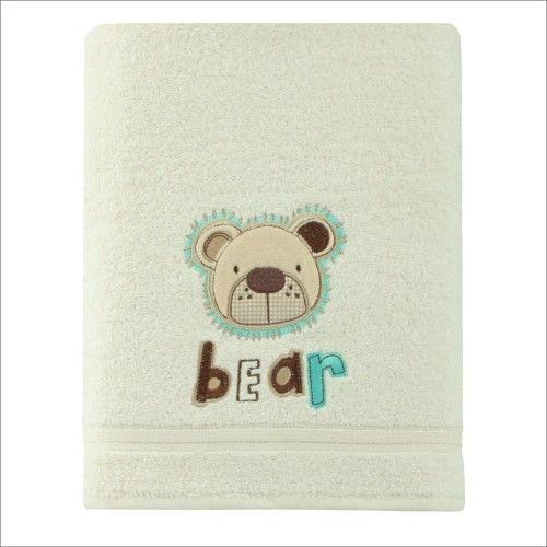 Ręcznik kąpielowy dziecięcy gruby 70x140 Miś Spod Igły i Nitki