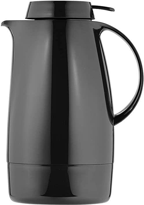 Helios Servitherm termos z tworzywa sztucznego, czarny, 1,3 litra