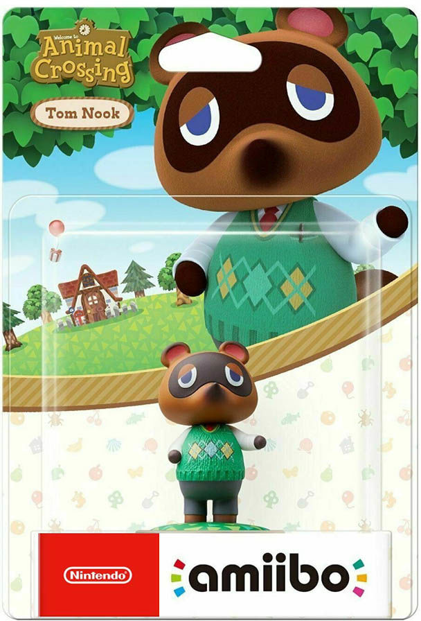 Tom Nook / Animal Crossing / Figurka Amiibo / Warszawa