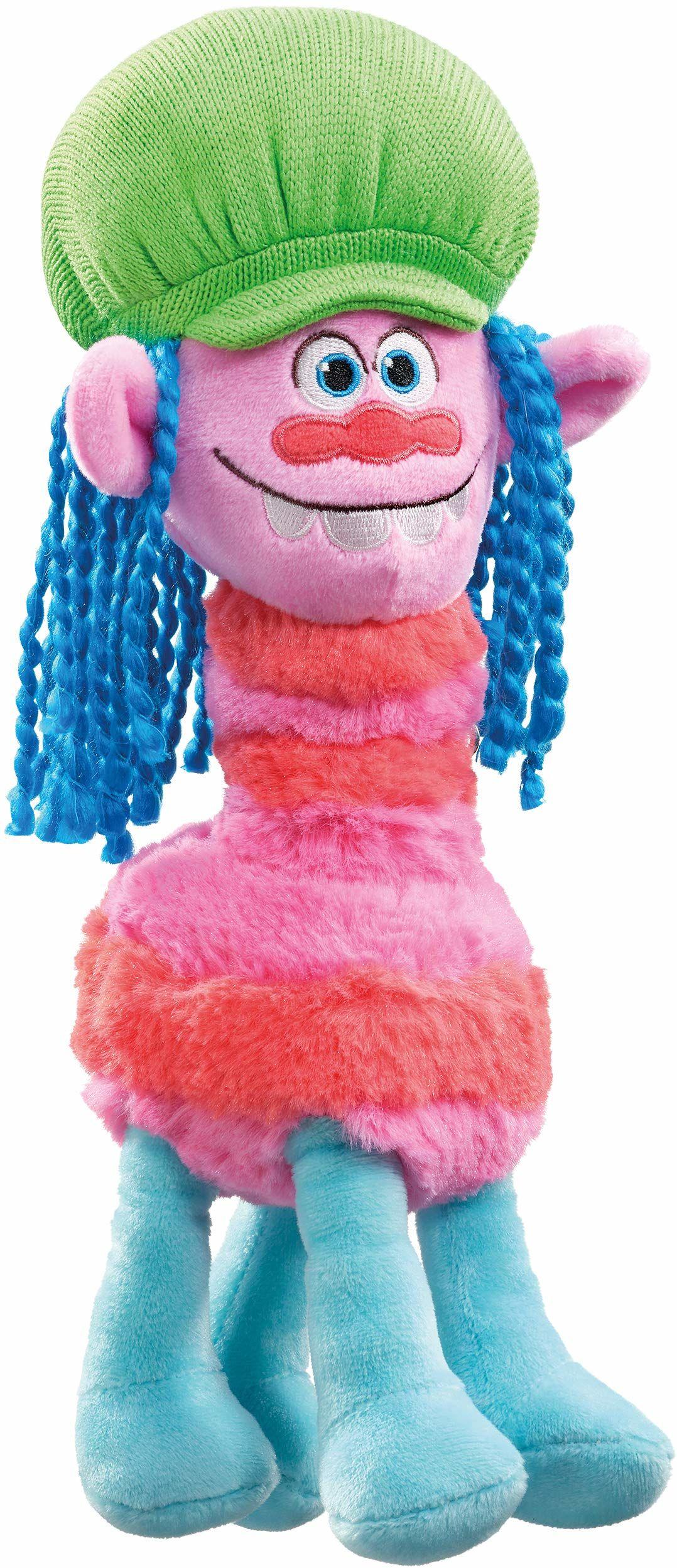 Schmidt Spiele 42720 Trolls, Cooper, pluszowa figurka, 30 cm, kolorowa