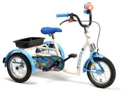 Vermeiren AQUA Rower rehabilitacyjny trójkołowy dla dziewczynek w wieku 3-7 lat