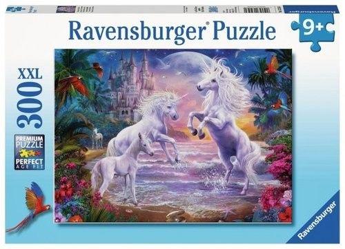 Puzzle Ravensburger 300 - Raj jednorożców, Unicorn Paradise
