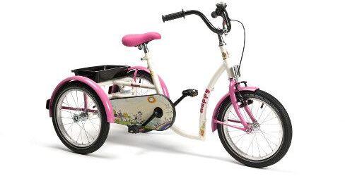 Vermeiren HAPPY Rower rehabilitacyjny trójkołowy dla dziewczynek w wieku 8-13 lat