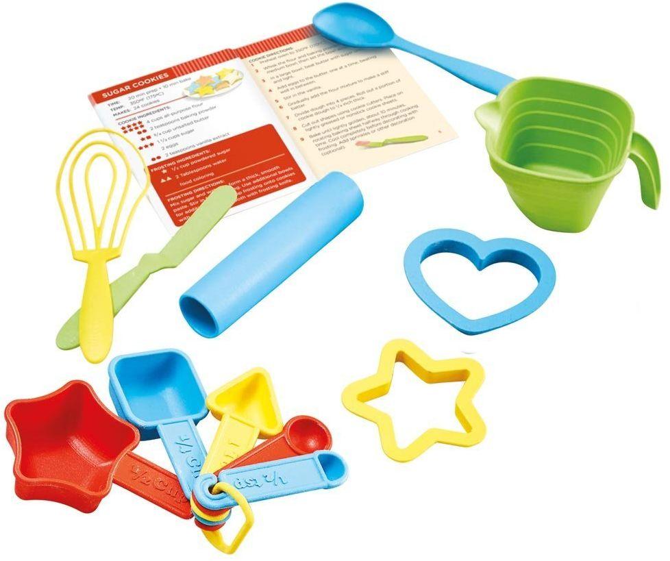 Green Toys Forma do pieczenia  wyjątkowo ukształtowane łyżeczki pomiarowe do pieczenia