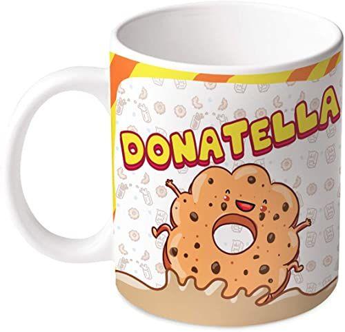 M.M. Group Filiżanka z imieniem i znaczeniem Donatella, 35 ml, ceramika, wielokolorowa