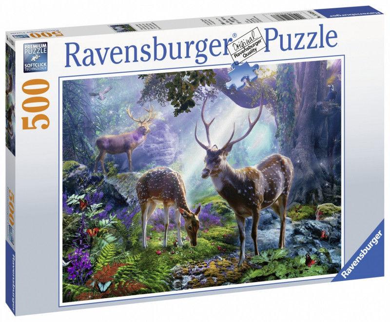 Puzzle Ravensburger 500 - Magiczny wodospad, Magic Waterfall