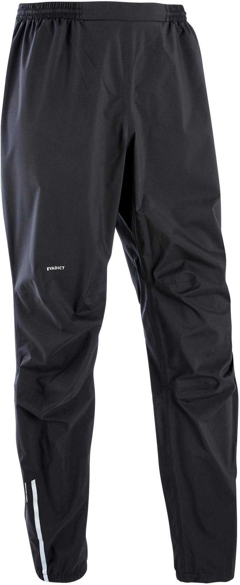 Spodnie do biegania przeciwdeszczowe męskie Evadict