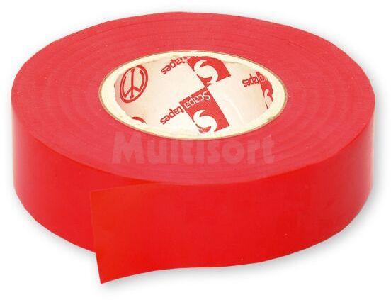 Taśma izolacyjna 19mm czerwona 25m