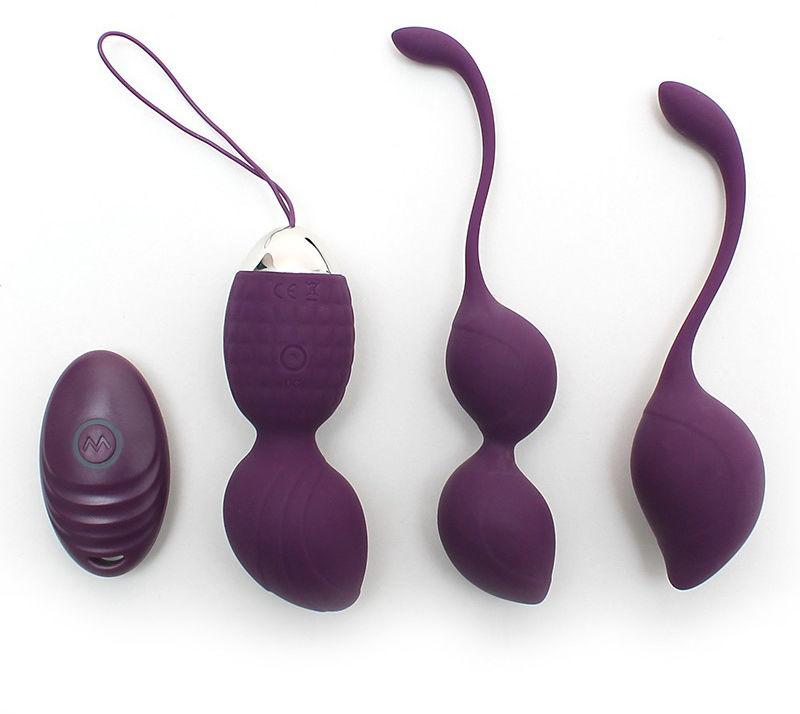 Rimba Rimini Kegel Ball Training Set Purple