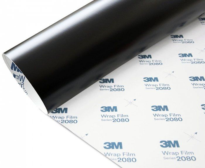 Folia Czarny Mat 3M M12 2080 152x20cm
