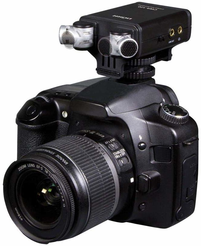 Dörr CWA-120 mikrofon stereo (XY kondensator stereo, dwustopniowy filtr górnoprzepustowy, regulowana charakterystyka kierunku, regulowane wzmocnienie)