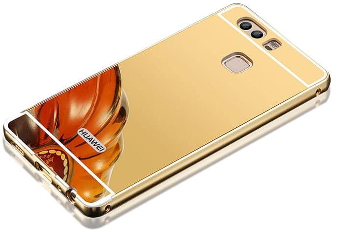 Etui Mirror Case Huawei P10 Lite Złoty