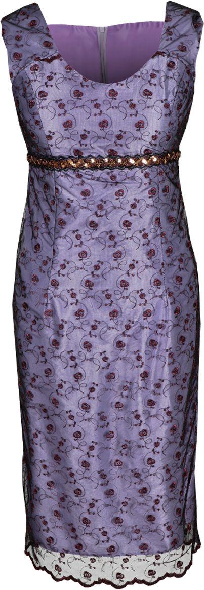 Sukienka FSU161 FIOLETOWY