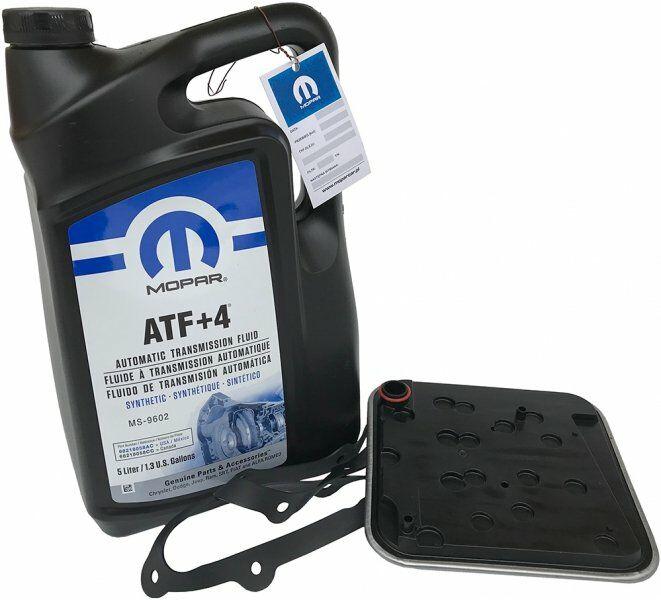 Olej MOPAR ATF+4 oraz filtr automatycznej skrzyni 4SPD Chrysler Voyager Town&Country