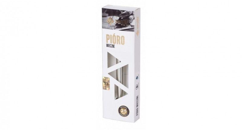 Pióro wieczne stalowe Zenith 60 Elegance Srebrne nr 535 7600102