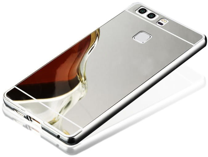Etui Mirror Case Huawei P10 Lite Srebrny