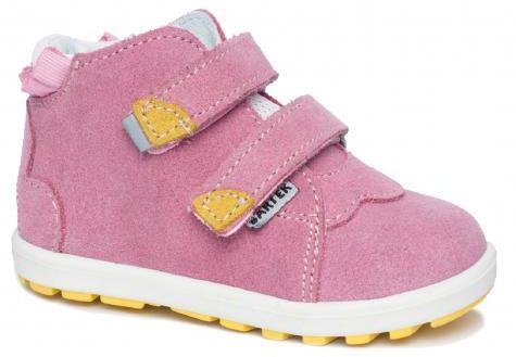 Bartek Mini first steps 71176/ SPK trzewiki, półbuty profilaktyczne, dziewczęce - różowy