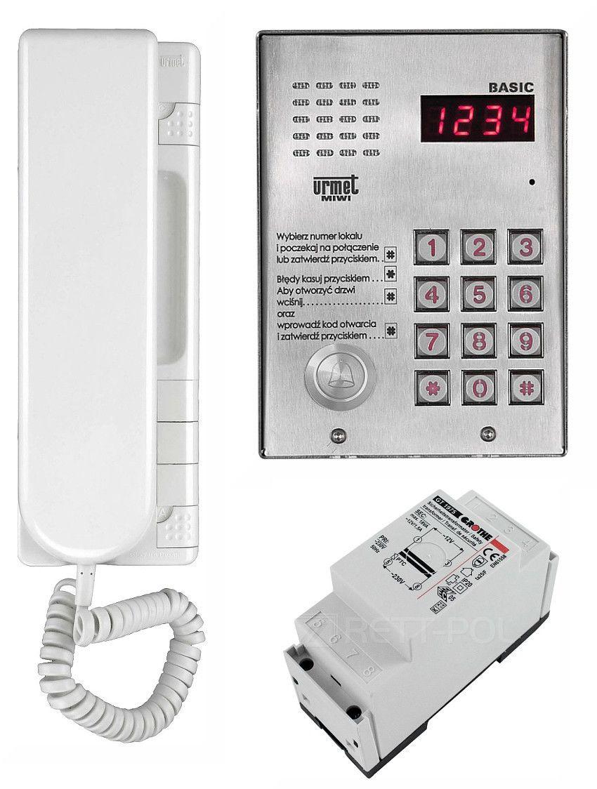 Zestaw domofonowy 1062/H311 MIWI-URMET
