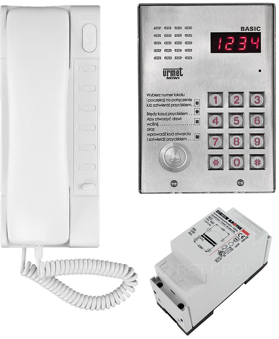 Zestaw domofonowy 1062/H321 MIWI-URMET