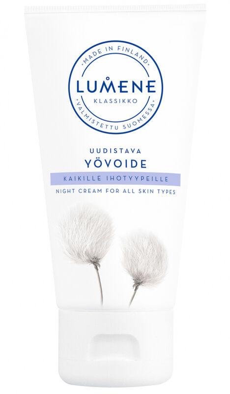 Lumene - KLASIKKO - Night Cream For All Skin Types - Regenerujący krem na noc do wszystkich typów skóry