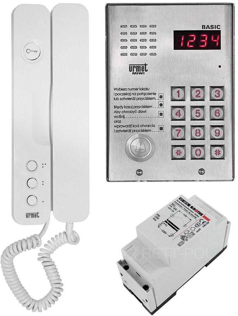 Zestaw domofonowy 1062/H401 MIWI-URMET