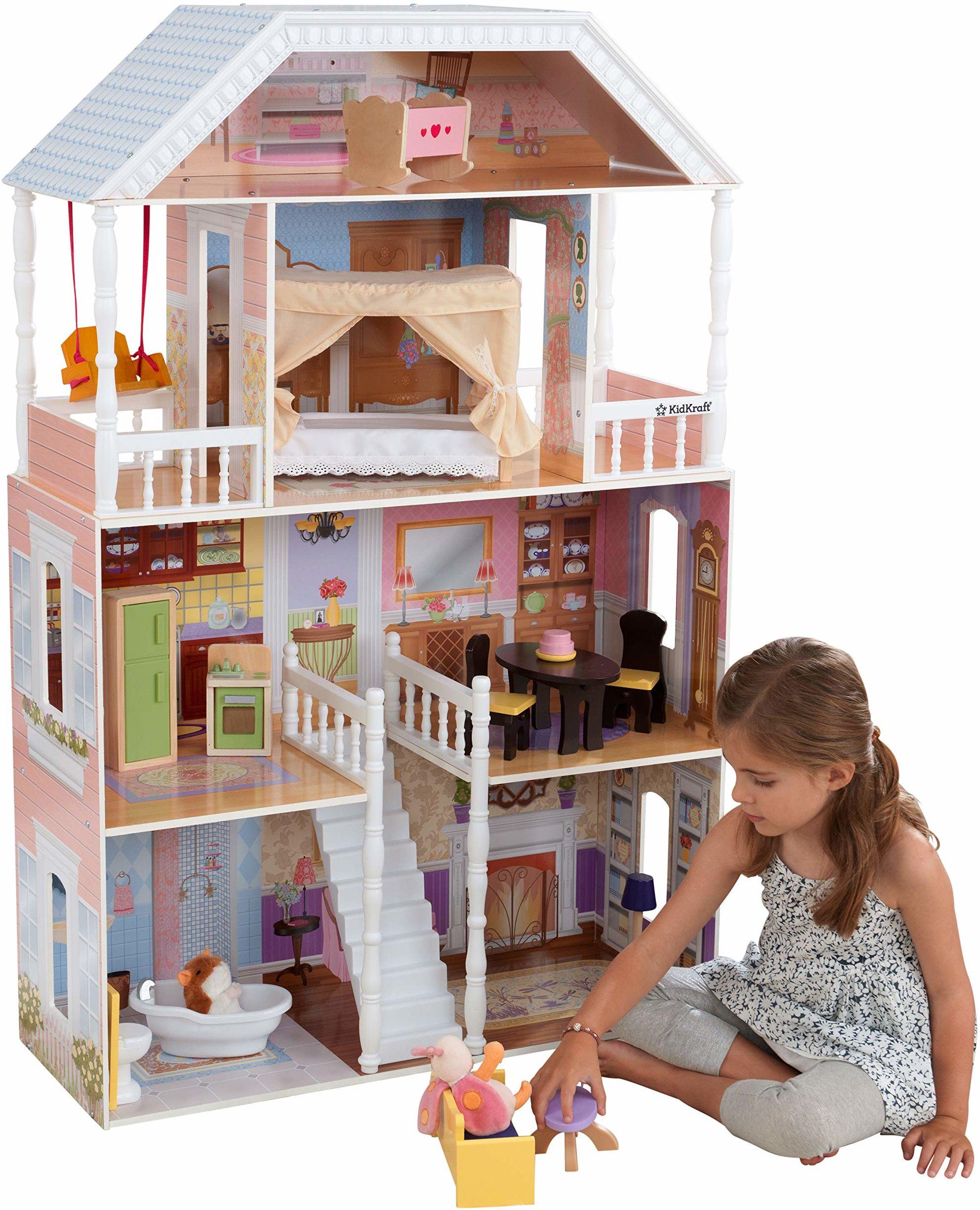 KidKraft 65023 domek dla lalek Savannah, kolorowy