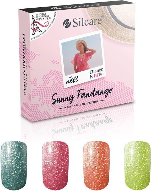 Flexy Lakiery Hybrydowe - Zestaw Sunny Fandango (4 x 4.5 g)