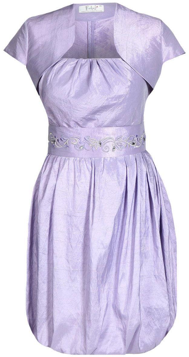Sukienka FSU173 FIOLETOWY