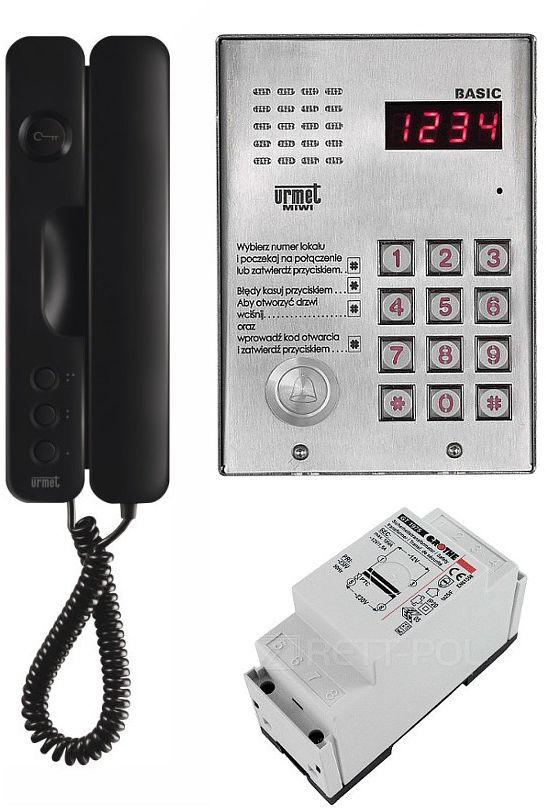 Zestaw domofonowy 1062/H401-B MIWI-URMET