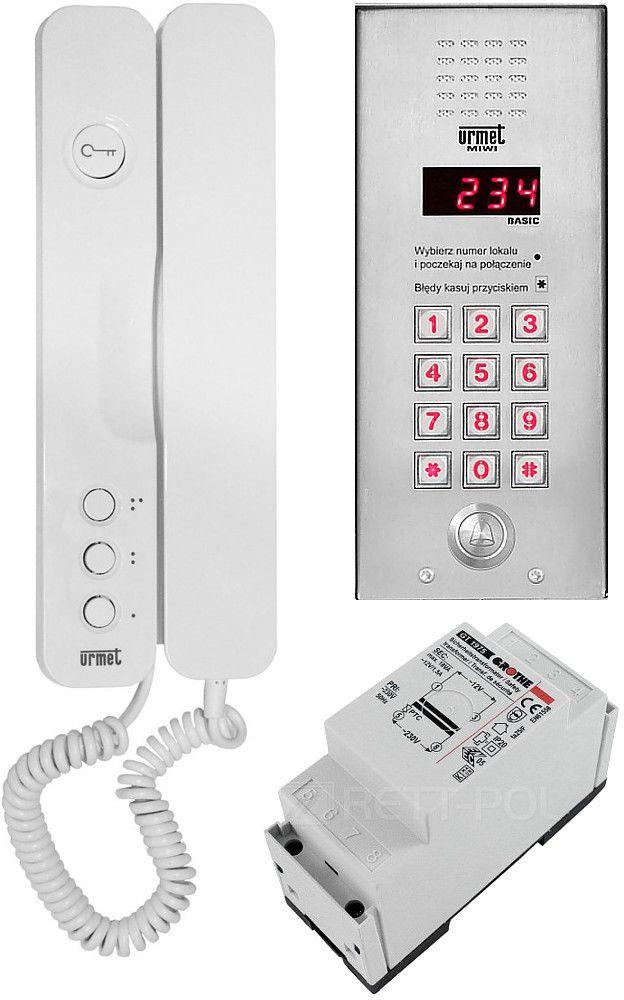 Zestaw domofonowy 1062/401 MIWI-URMET