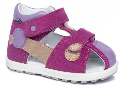 Bartek 71179 MA9 sandały sandałki półbuty profilaktyczne zabudowane dziewczęce - wrzos- fiolet
