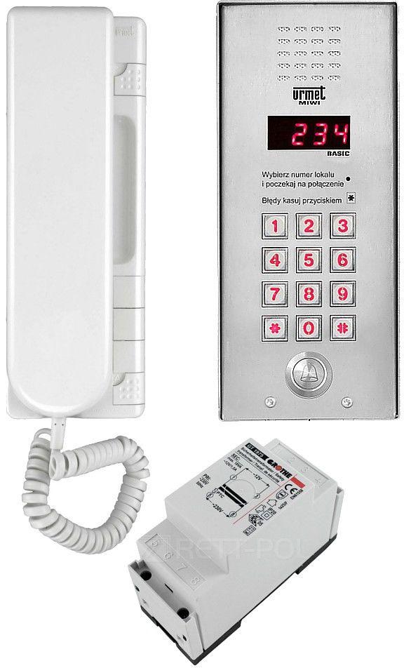 Zestaw domofonowy 1062/311 MIWI-URMET