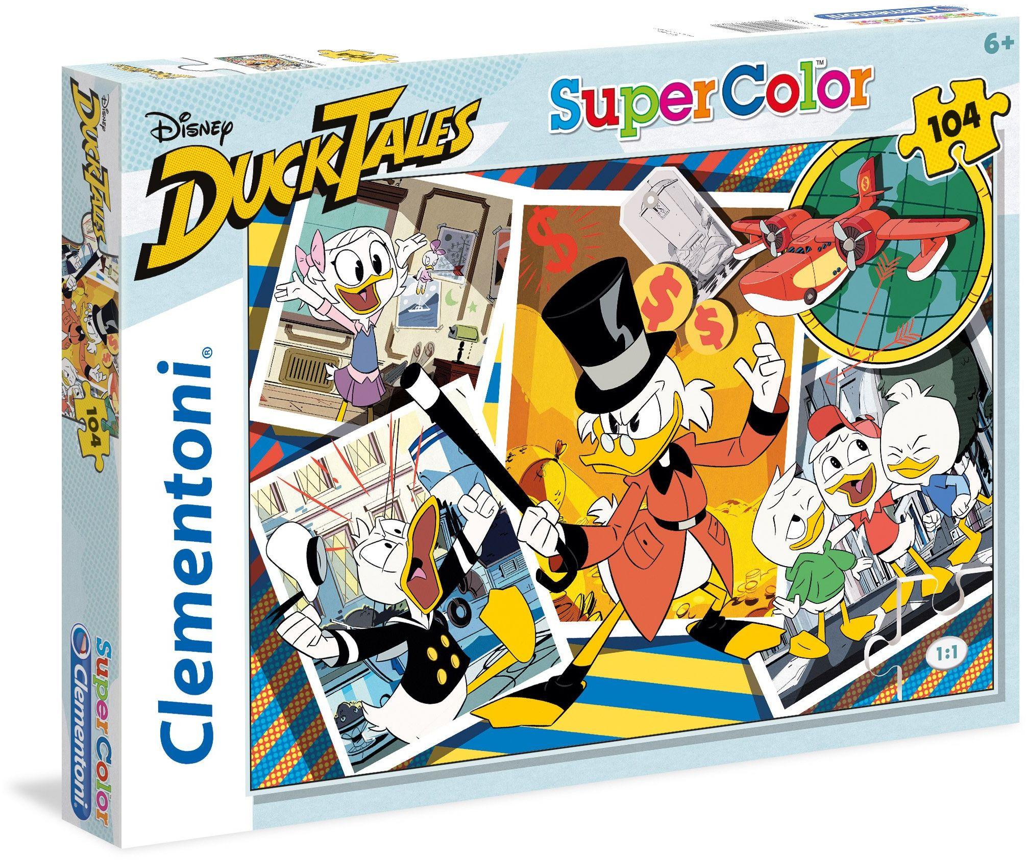 """Clementoni 27083"""" Duck Tales Puzzle, 104 części"""