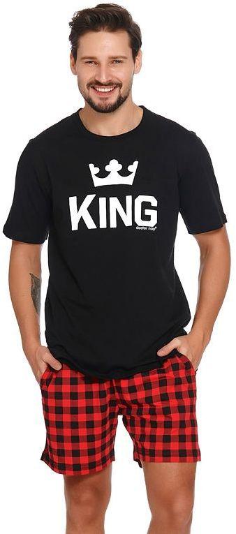 Krótka piżama męska King
