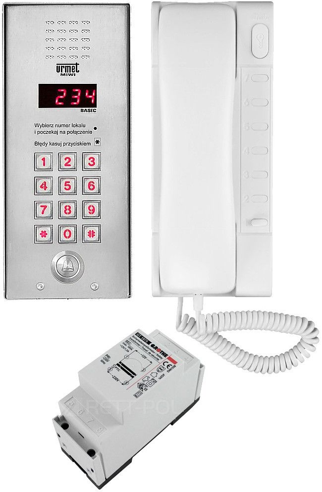Zestaw domofonowy 1062/321 MIWI-URMET
