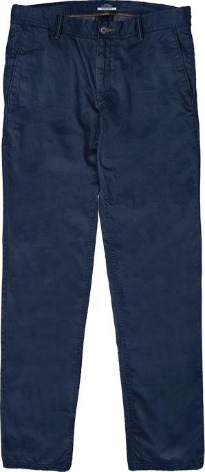 Double Urban Outfitters Duże Spodnie Chino Granatowe